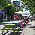 Charlottetown Street Scene by Judy Tomlinson