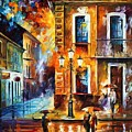 Charming Night by Leonid Afremov