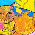 Chat A La Fenetre by Annick Portal