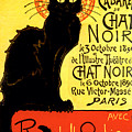 Chat Noir Vintage by Mindy Sommers