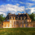 Chateau D'acquigny  by Ronald Bolokofsky