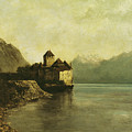 Chateau De Chillon by Gustave Courbet