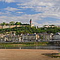 Chateau De Chinon Panorama by Dave Mills