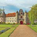 Chateau De Saint-germain-de-livet, Normandy, France by Curt Rush