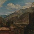 Chateau De St Michael  by Joseph Mallord William Turner