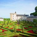 Chateau De Villandry, Loire, France by Curt Rush