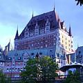 Chateau Frontenac, Montreal by Anup Kumar Chalamalla