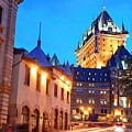 Chateau Frontenac by Songquan Deng