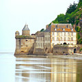 Chateau On Mont St-michel by Vicki Hone Smith
