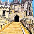 Chateau Saumur, A Long Way Up by Marcella Chapman