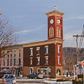 Chatham Clock Tower by Kenneth Young