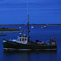 Chatham Pier Fisherman Boat  by Juergen Roth