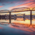 Chattanooga Sunset 5 by Steven Llorca