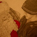 Chatting With Santa by Melissa Wiater Chaney