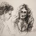 Chatting by Ylli Haruni