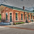 Glendale,ohio Train Depot by Paul Lindner
