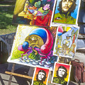 Che Guevara And Other Artwork by Bob Phillips
