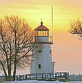Cheboygan Harbor Light 2 by Michael Peychich