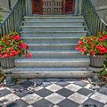 Checkered Tile by Dale Powell
