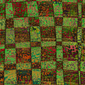 Checkoff Abstract Pattern by Edward Fielding