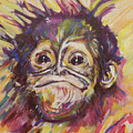 Cheeky Lil' Monkey by Karin McCombe Jones