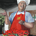 Chef Fernando by Ferrel Cordle