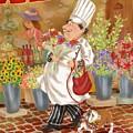 Chefs Go To Market II by Shari Warren