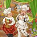 Chefs Go To Market IIi by Shari Warren