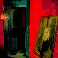 Chelsea Hotel Abstract by Jeff Watts