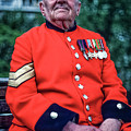Chelsea Pensioner by Mike Goldstein