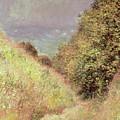 Chemin De La Cavee Pourville by Claude Monet