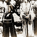 Cherokee Indian Couple by Gary Wonning