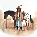 Cherokee Lighthorse by John Guthrie