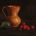 Cherries And Plum by Eva Santi