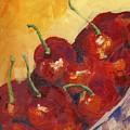 Cherries In A Basket by Kathie Selinger