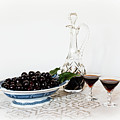 Cherries In An Old Fashion Way - A Still Life by Torbjorn Swenelius