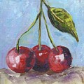 Cherries One Two Three by Kathie Selinger