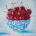 Cherrismatic Bowl by Kaashi Art