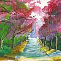 Cherry Blossom Lane by Nicki Bennett