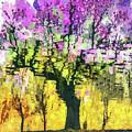 Cherry Blossom Tree In Spring by Daliana Pacuraru