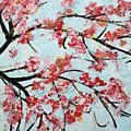 Cherry Blossoms V 201631 by Alyse Radenovic