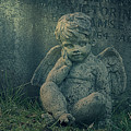 Cherub Lost In Thoughts by Monika Tymanowska