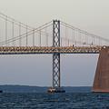 Chesapeake Bay Bridge - Maryland by Brendan Reals