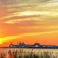 Chesapeake Bay Bridge Sunset by Brian Wallace