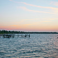 Chesapeake Bay - Piney Point Maryland by Bill Cannon