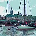 Chesapeake Bayscape by Elinor Mavor