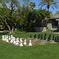 Chess At The Biltmore by Aimee L Maher ALM GALLERY