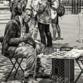 Chess Player by Fran Gallogly