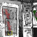 Chesterfield And Lucky Strike Cigarette Signs S. Meyer Avenue Barrio, Tucson, Az 1967-2016 by David Lee Guss