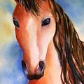 Chestnut Horse by Hilda Vandergriff